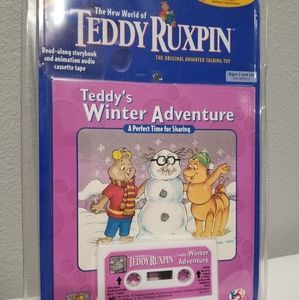 Teddy Ruxpin Bear Tape Teddy's Winter Adventure